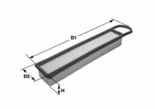 Воздушный фильтр CLEAN FILTERS MA3148