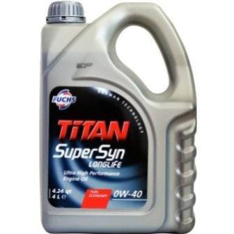 FUCHS TITAN Supersyn Longlife 0W-40 1 л.