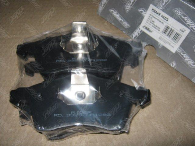 Колодка торм. диск. VW TRANSPORTER (T4) 90-03 передн. (RIDER)