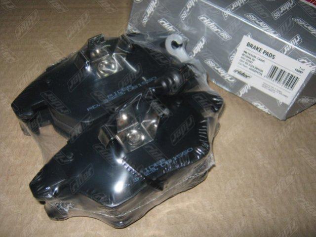 Колодка торм. диск. VW PASSAT, CADDY, OCTAVIA 05- передн. (RIDER)