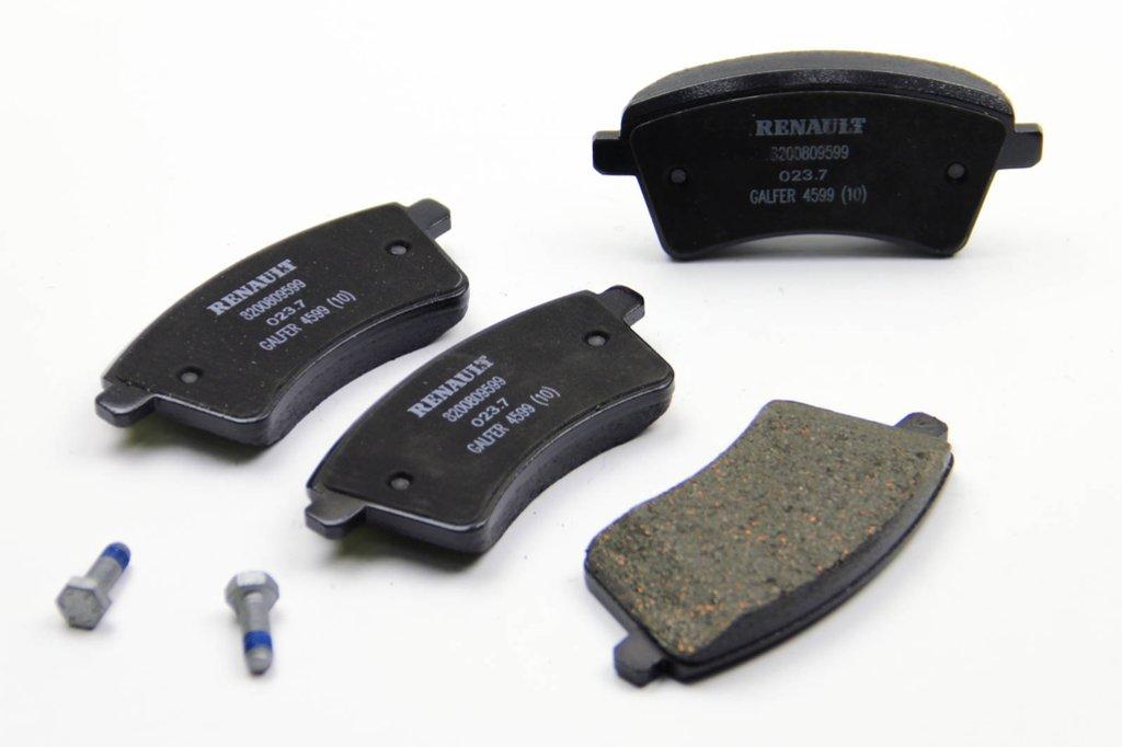Комплект тормозных колодок, дисковый тормоз RENAULT 410601334R