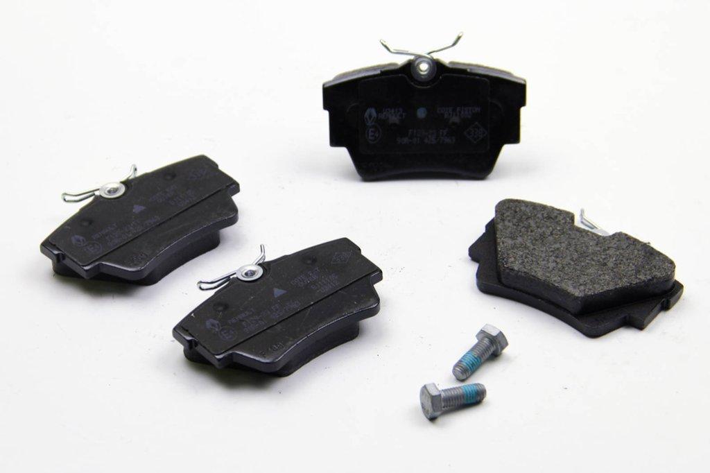 Комплект тормозных колодок, дисковый тормоз RENAULT 7701054772