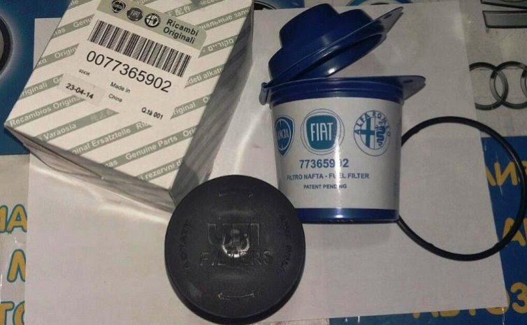 Топливный фильтр FIAT 77365902