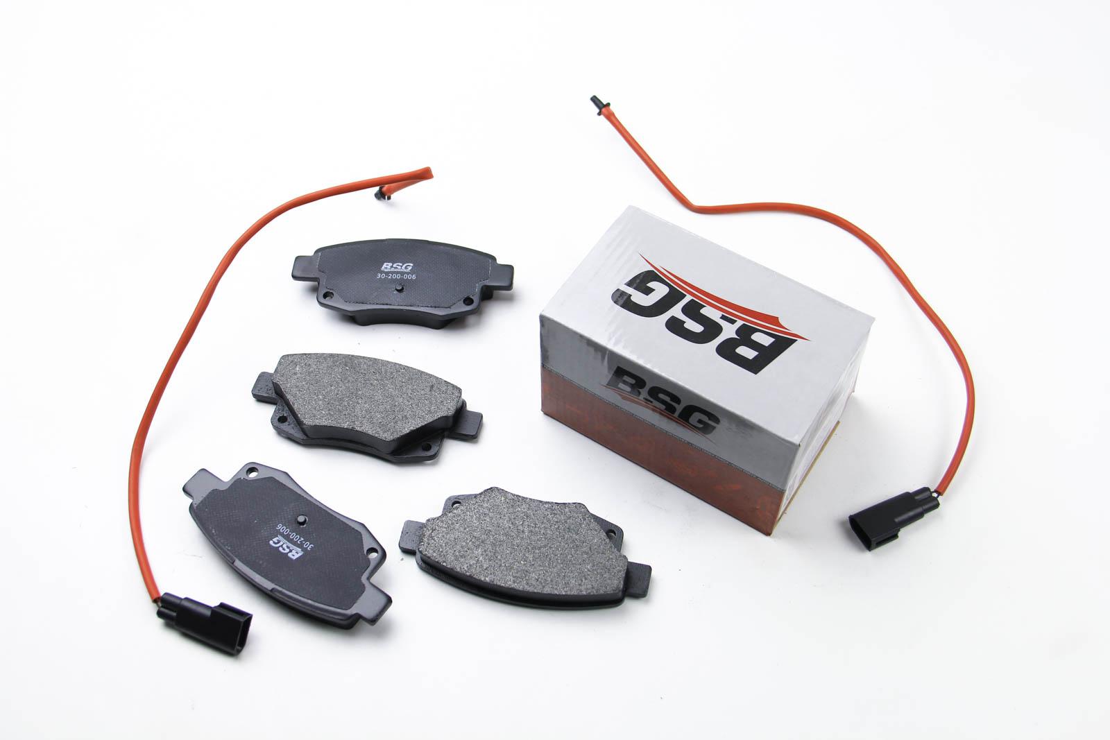 Комплект тормозных колодок, дисковый тормоз BSG BSG 30-200-006