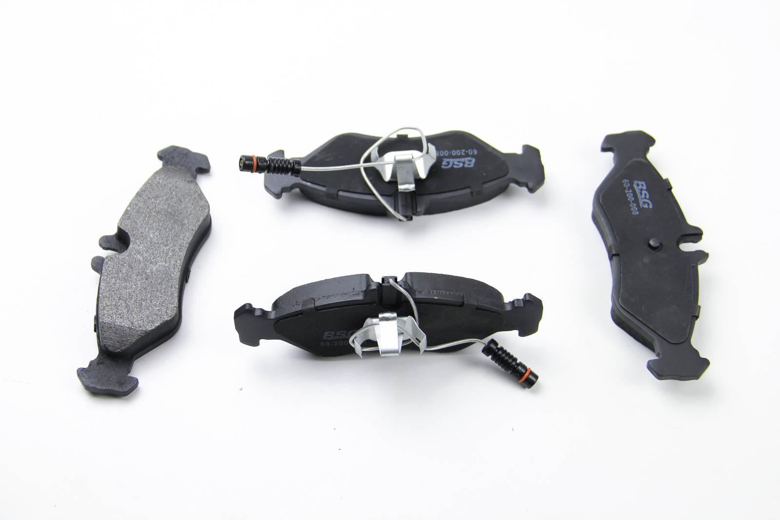 Комплект тормозных колодок, дисковый тормоз BSG BSG 60-200-008