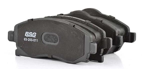 Комплект тормозных колодок, дисковый тормоз BSG BSG 65-200-011