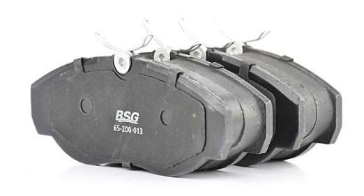 Комплект тормозных колодок, дисковый тормоз BSG BSG 65-200-013