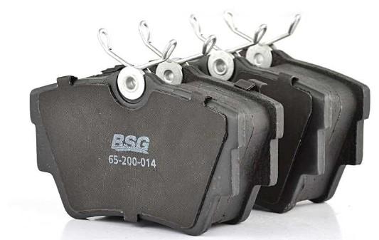 Комплект тормозных колодок, дисковый тормоз BSG BSG 65-200-014