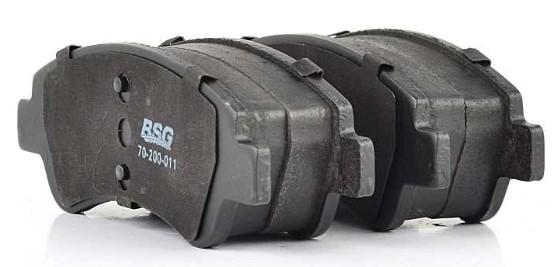 Комплект тормозных колодок, дисковый тормоз BSG BSG 70-200-011