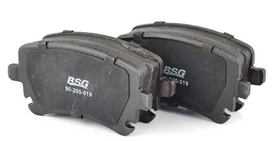 Комплект тормозных колодок, дисковый тормоз BSG BSG 90-200-019