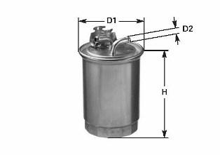 Топливный фильтр CLEAN FILTERS DN1910