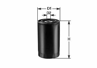Топливный фильтр CLEAN FILTERS DN 253