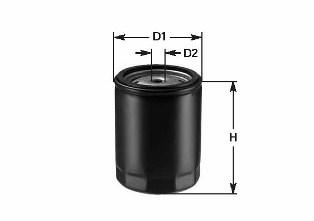 Масляный фильтр CLEAN FILTERS DO1823