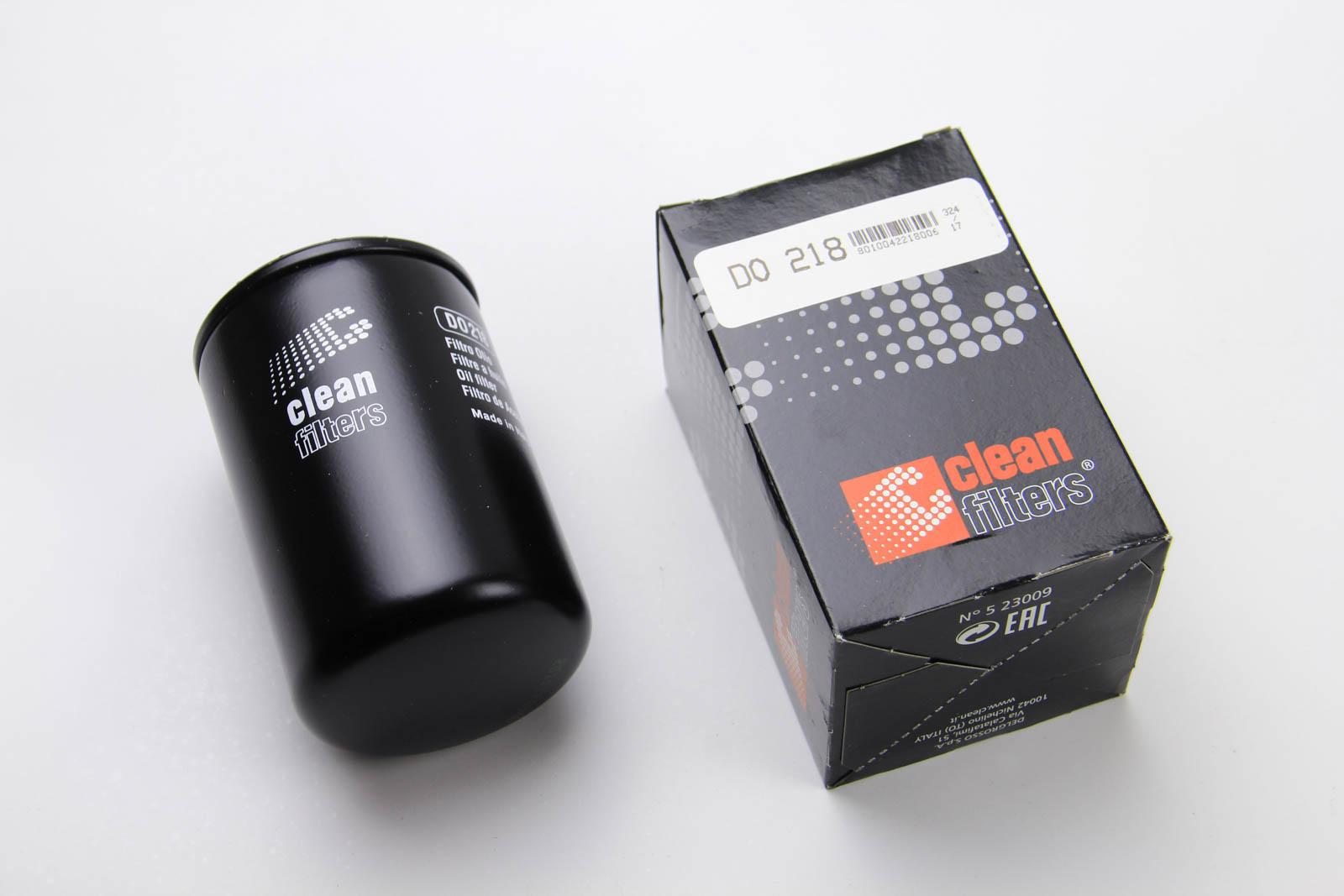 Масляный фильтр CLEAN FILTERS DO 218