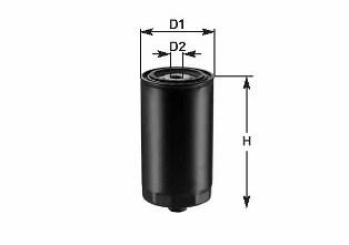 Масляный фильтр CLEAN FILTERS DO 918