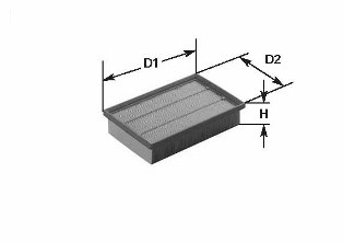 Воздушный фильтр CLEAN FILTERS MA1148