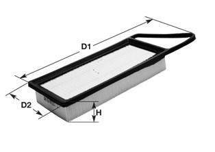 Воздушный фильтр CLEAN FILTERS MA1193