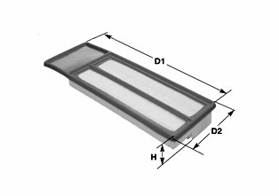 Воздушный фильтр CLEAN FILTERS MA3071