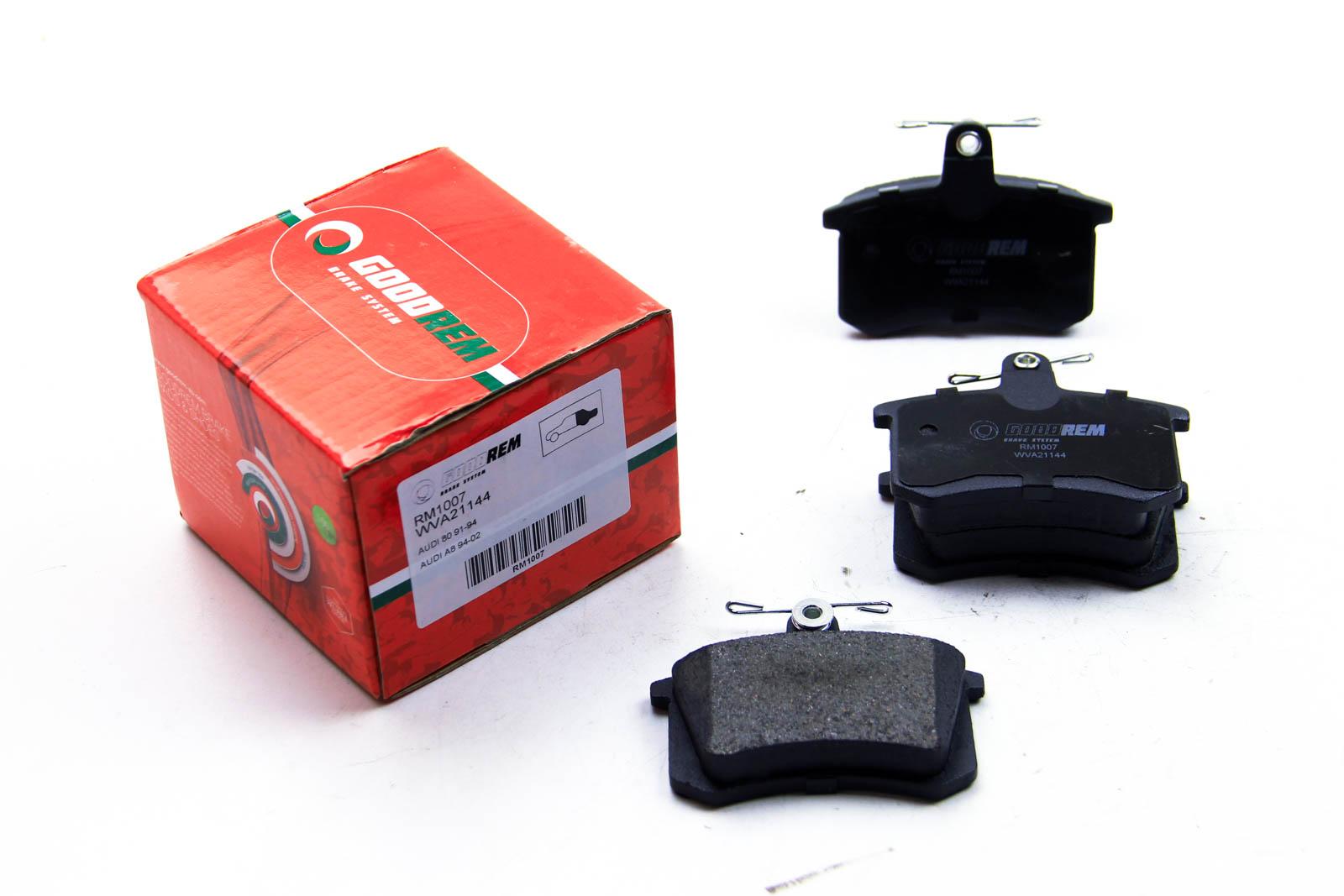 Тормозные колодки  зад. Audi 80/100/A4/A6 -97