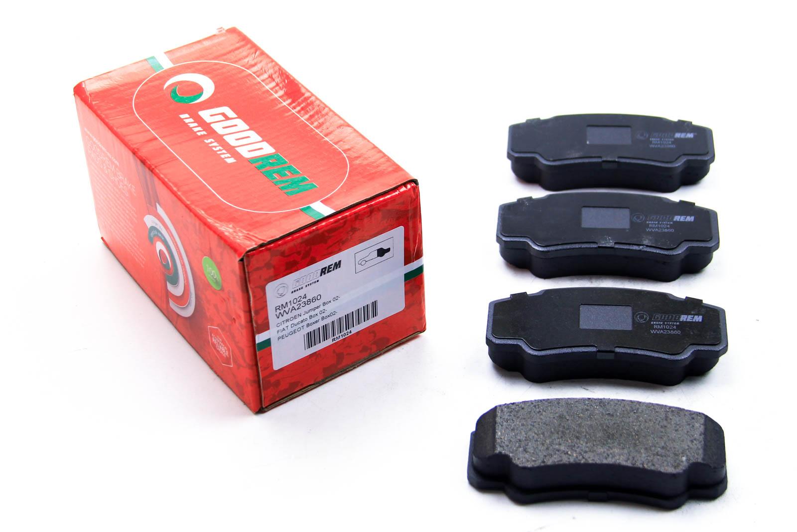 Тормозные колодки зад. Jumper/Ducato/Boxer 02-06
