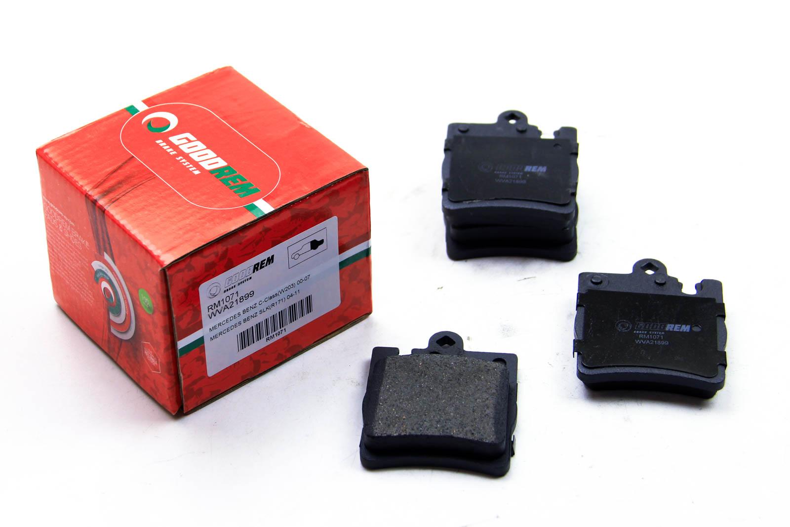 Тормозные колодки зад. MB C/E-класс (W202/210) (ATE)/(W211) 4Matic