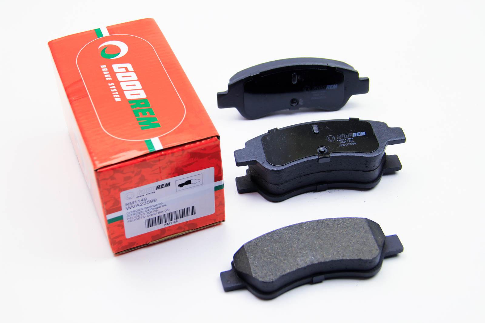 Тормозные колодки перед. Berlingo/Partner 01- (Bosch)
