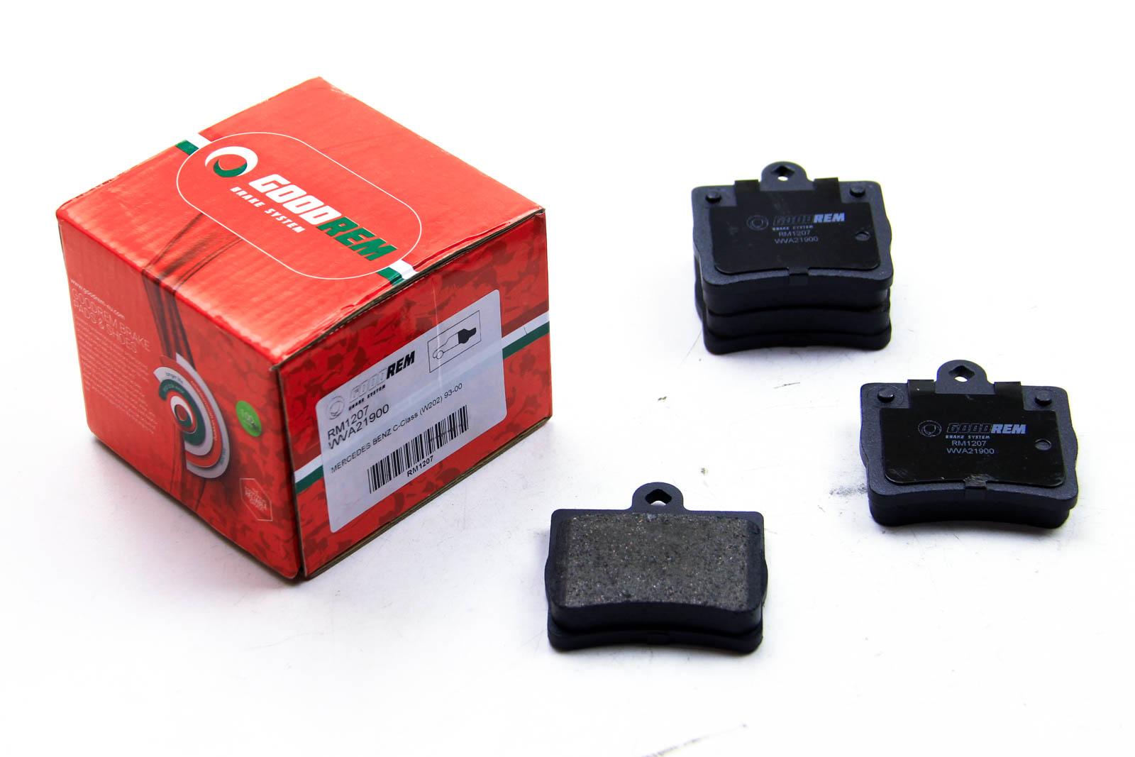 Тормозные колодки  зад. M C180/C200/C230 93- (ATE)