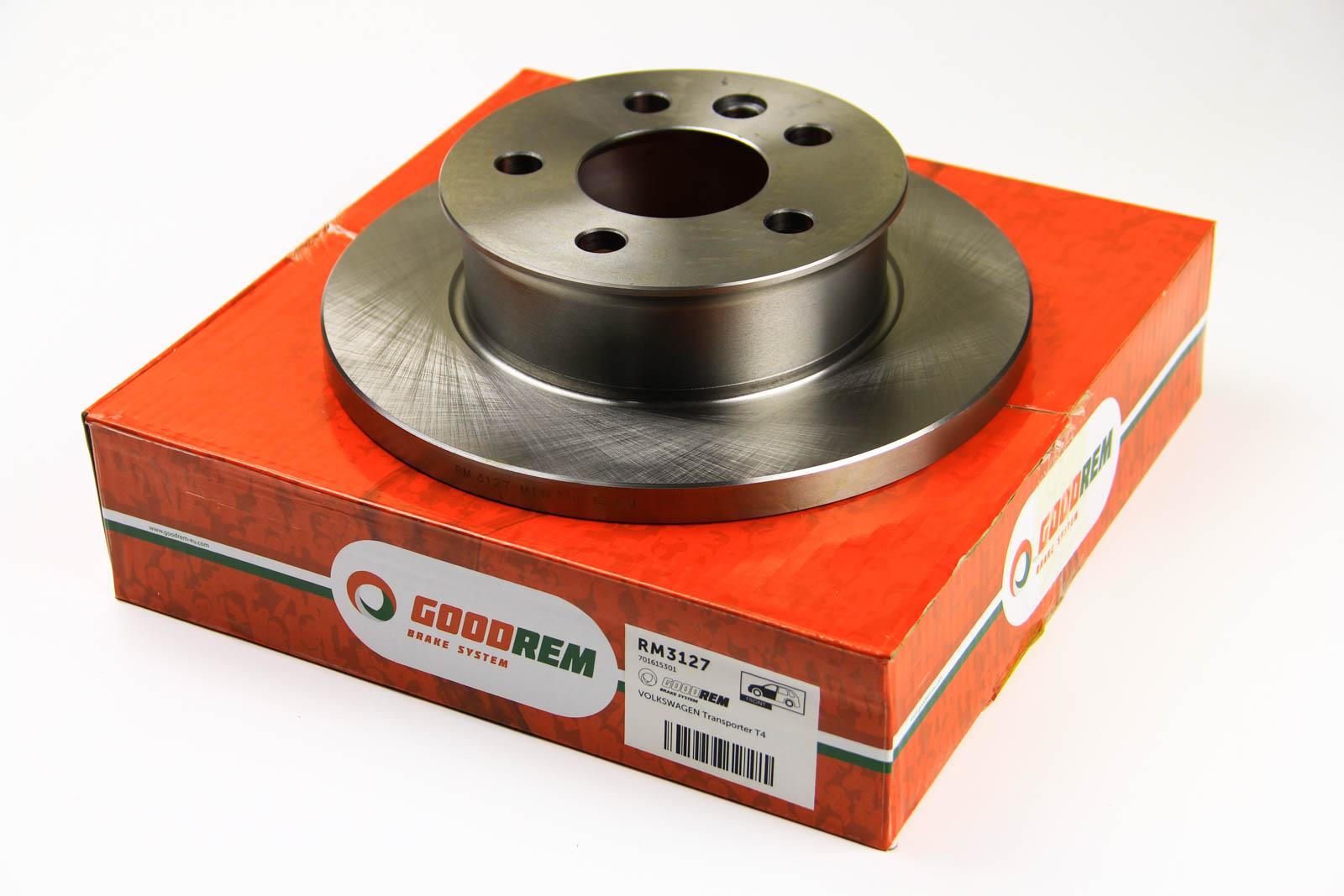 Тормозной диск перед. T4 2.5TDI 96-03 (R15)