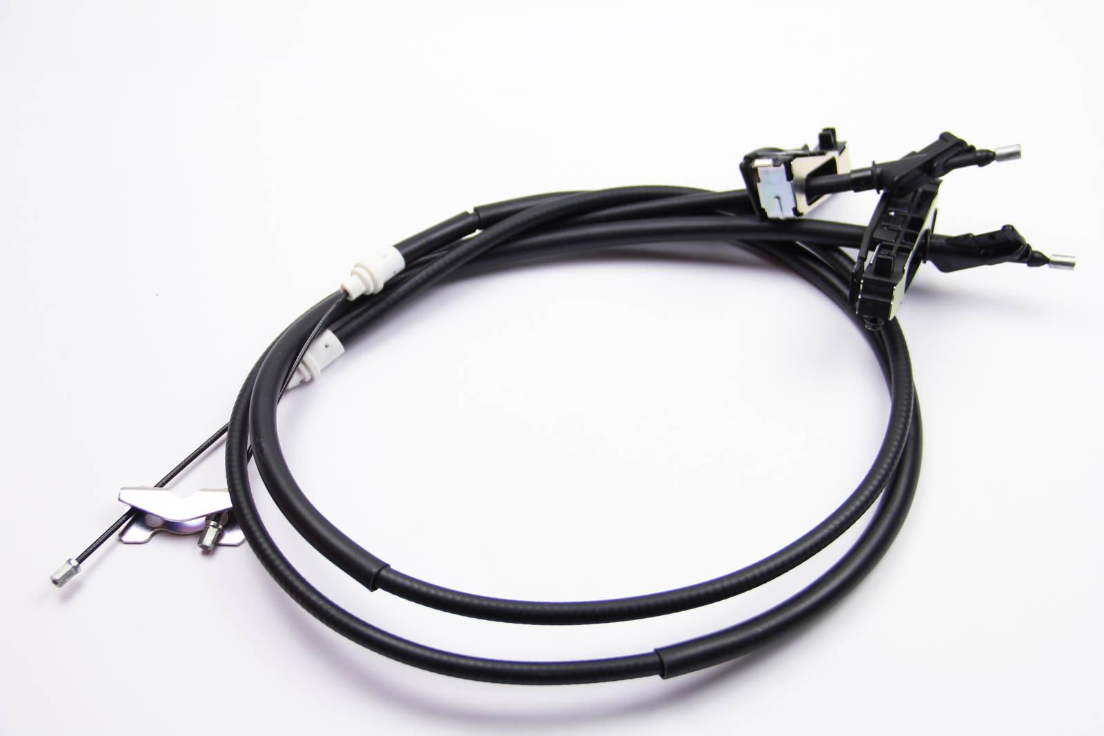 Трос ручного тормоза зад. Focus 98-03 (барабан) (1480/1320x2)