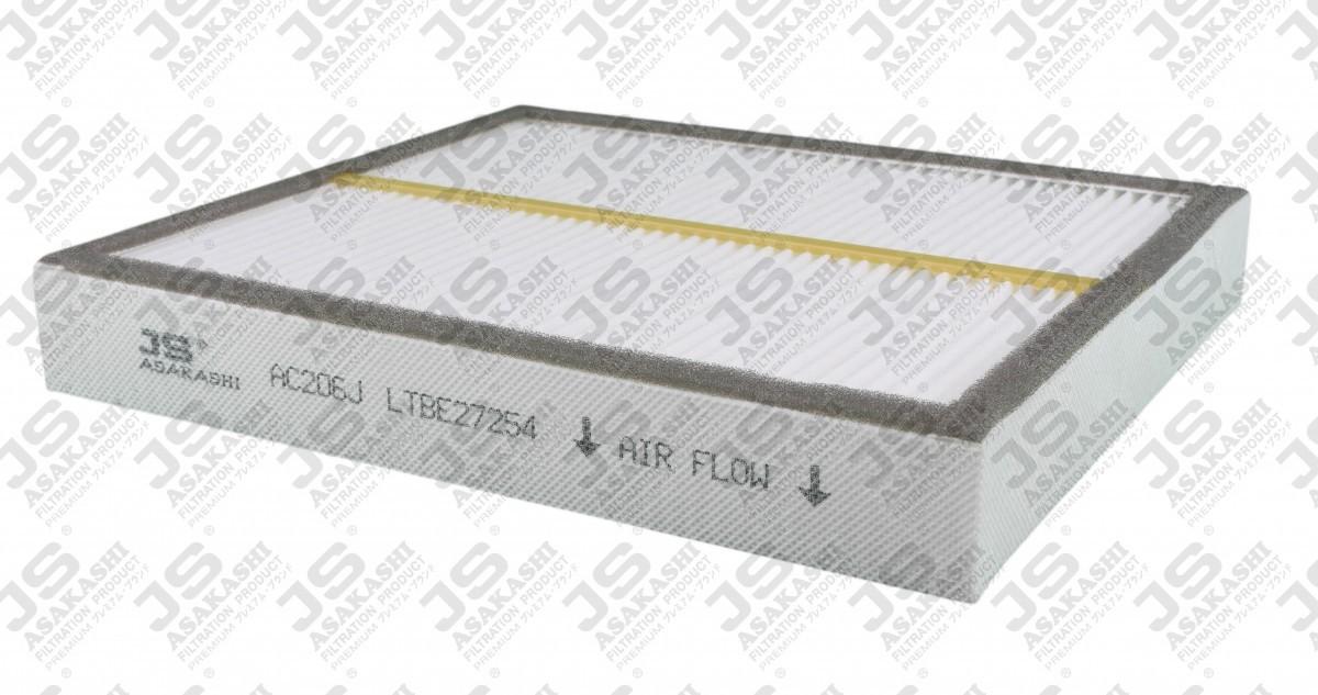 Фильтр воздушный кондиционера (салона) JS ASAKASHI AC206J