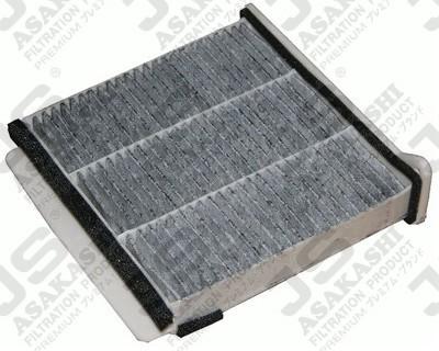 Фильтр салона угольный 233/231/74 JS ASAKASHI AC3503C