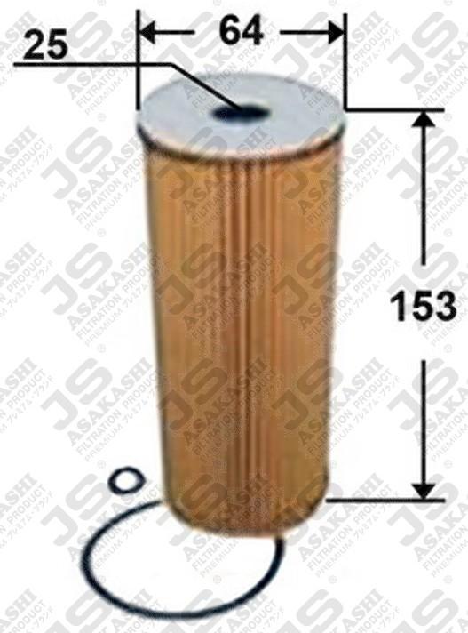 Фильтр масляный H153 D64 d25