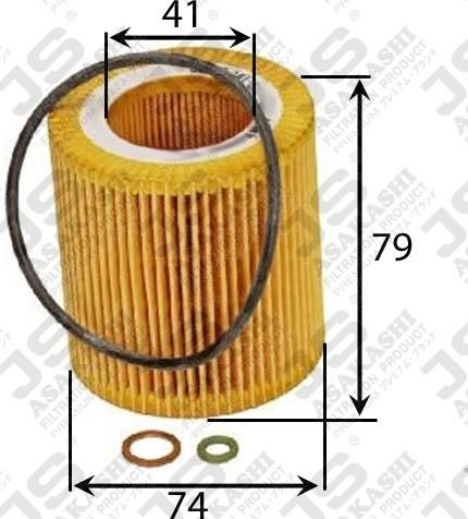 Фильтр масляный D73.5 d41 h79