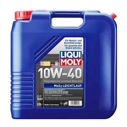 LIQUI MOLY 10W40 MoS2 Leichtlauf (20л) 1089