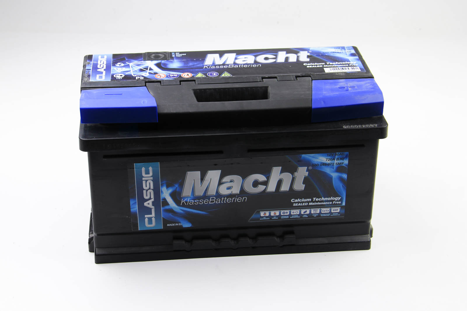Аккумулятор Macht 80Ah/720A