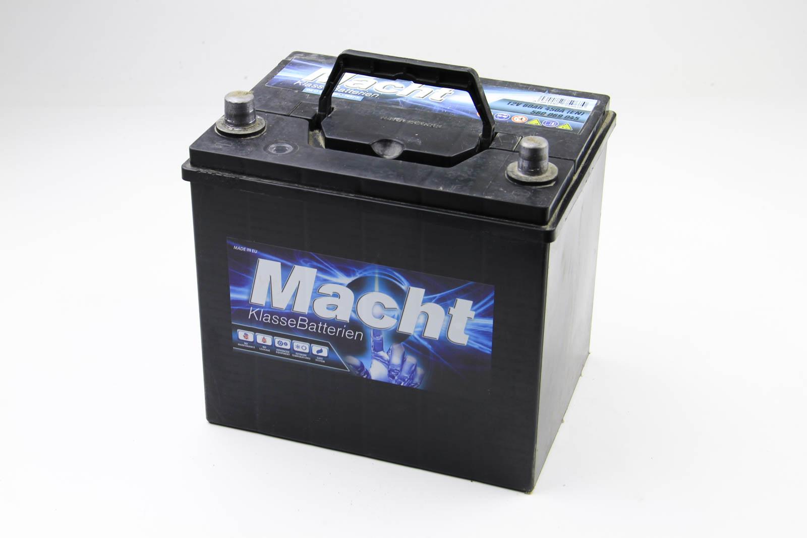 Аккумулятор Macht Asia 60Ah/450A
