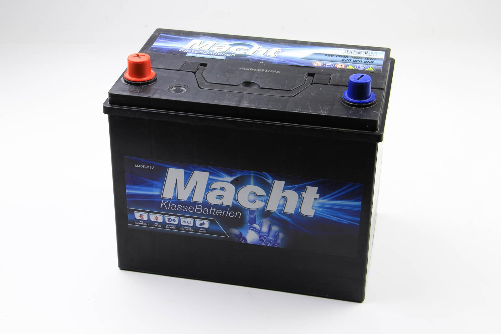 Аккумулятор Macht Asia 70Ah/560A