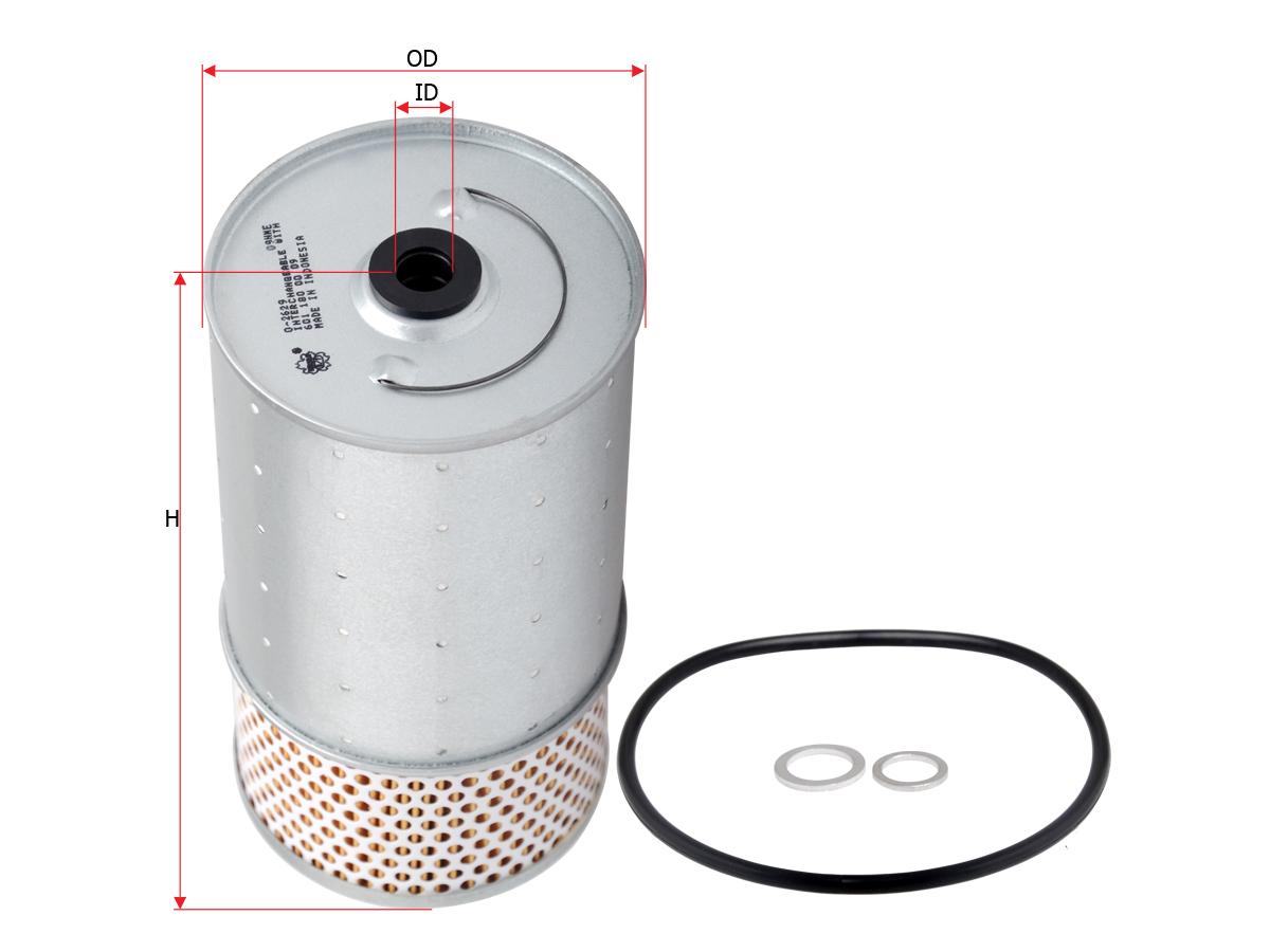 Масляный фильтр SAKURA  AUTOMOTIVE O-2629