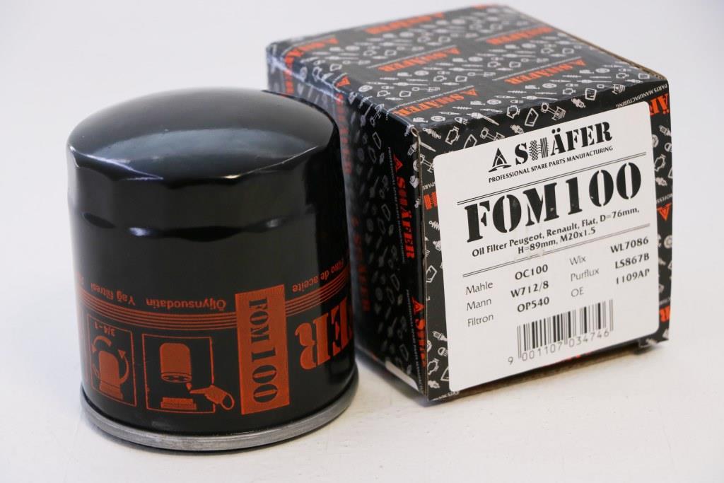 Фильтр масляный SHAFER FOM100