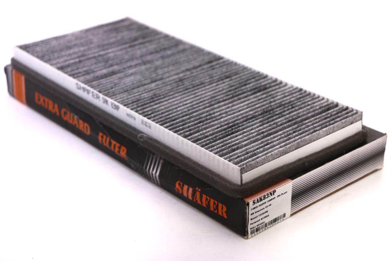 Фильтр салонный MB Sprinter/LT 95-06 угольный без пластиковых вставок (NO Plastic)'