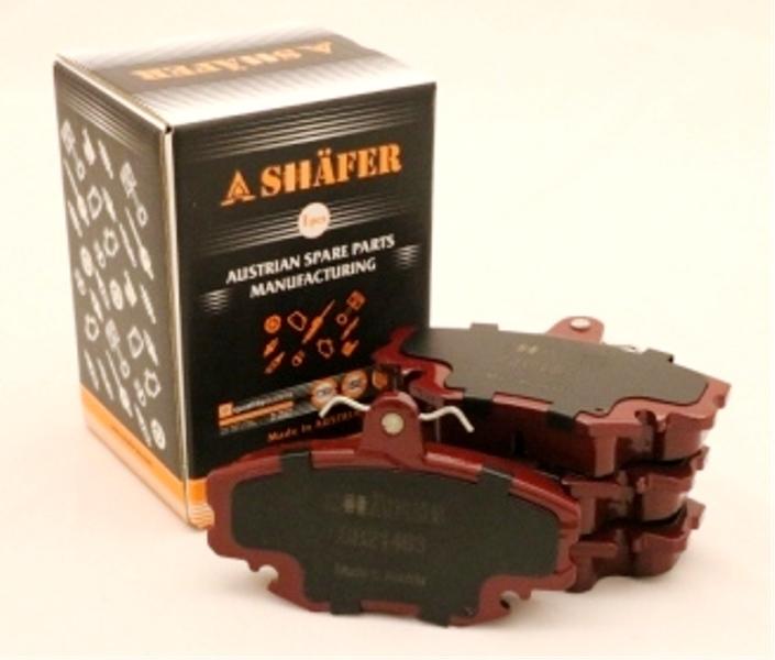 Колодки передние SHAFER SB21463С