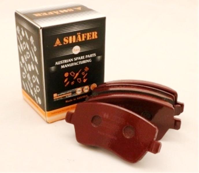 Колодки передние SHAFER SB23973