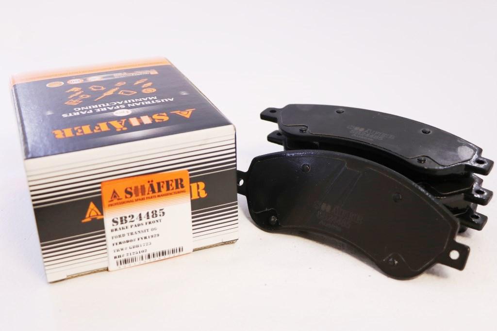 Колодки передние SHAFER SB24485
