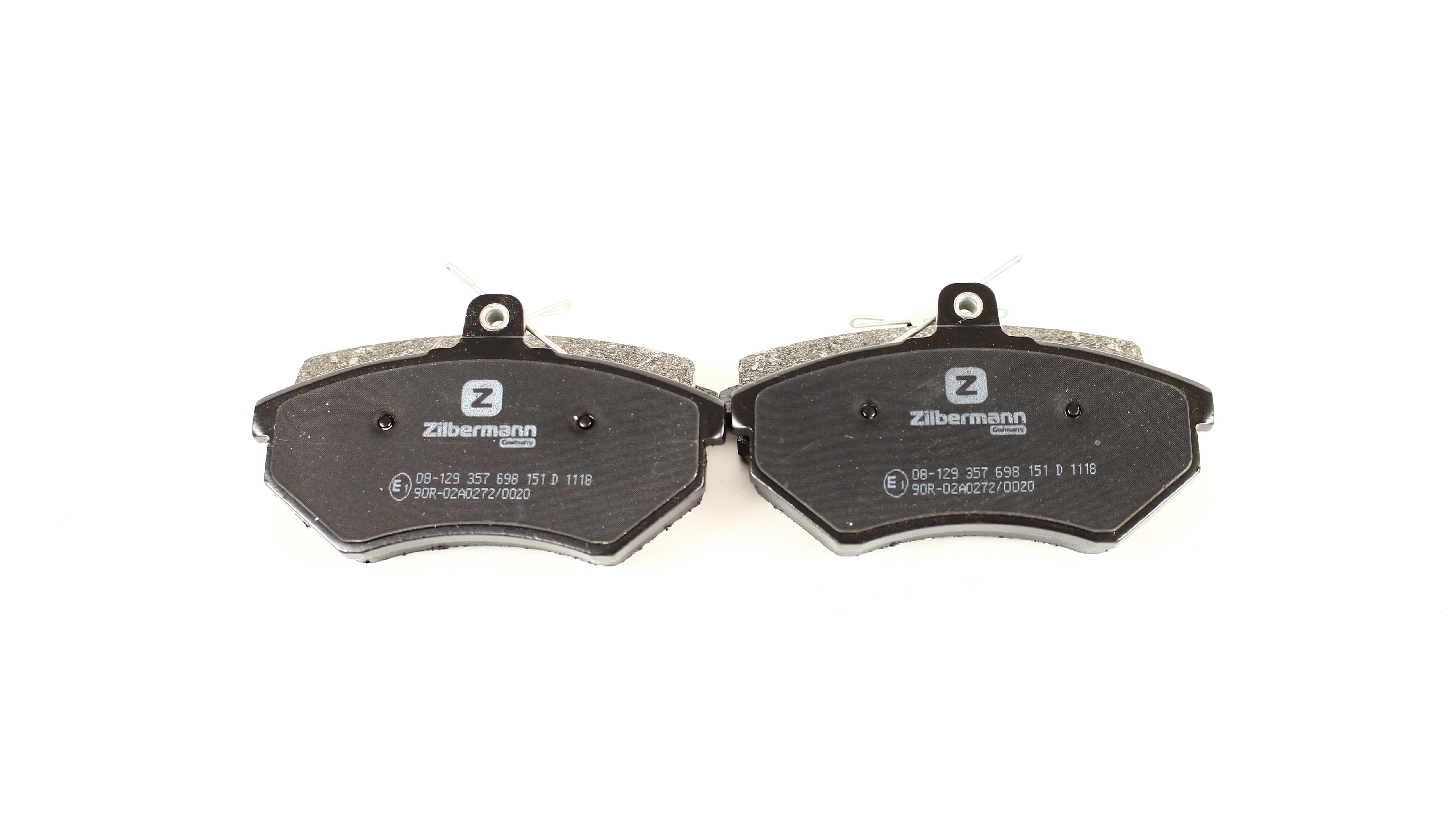 Колодки передние, 95-04 (тип LUCAS)