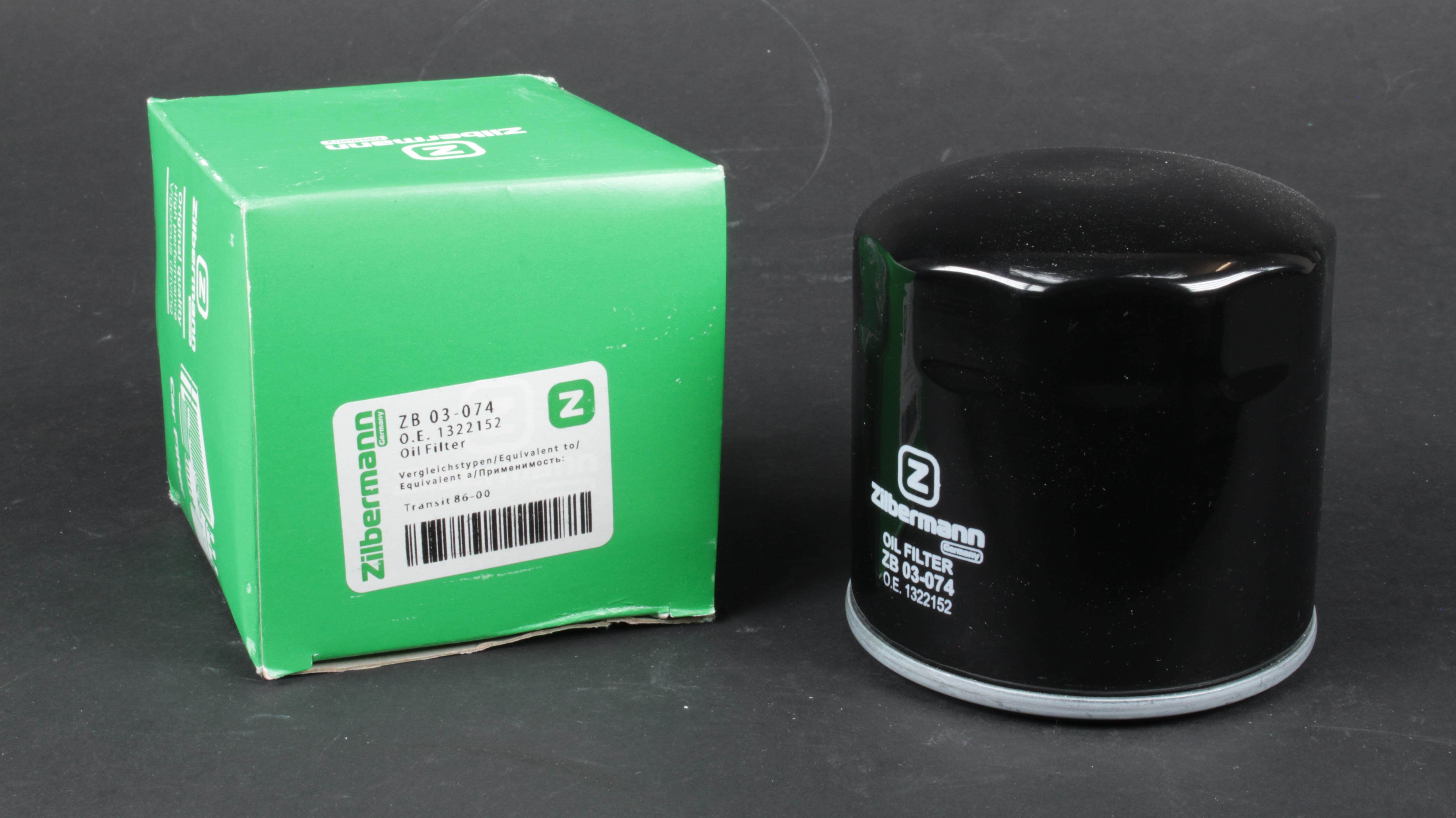 Фильтр масляный, 86-00 /Connect