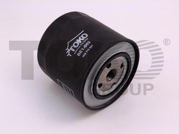 Фільтр мастила VOLKSWAGEN T4 1.9D/TD 90.09-, AUDI 100 2.0TD 82.08-90.11, 2.