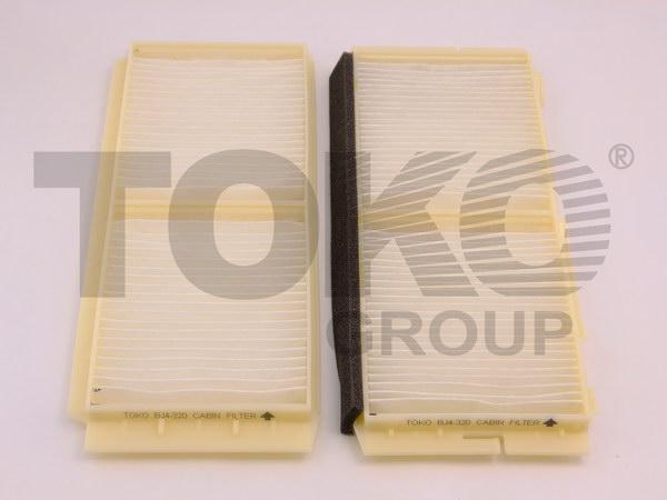 Фільтр кондиціонера MAZDA 3 1.6-2.2 MZR 06/09- (kit 2 pcs)