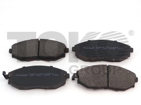 Колодки гальмівні дискові з пластинами, перед. DAEWOO EPICA 2.0I,2.5I V6 06-