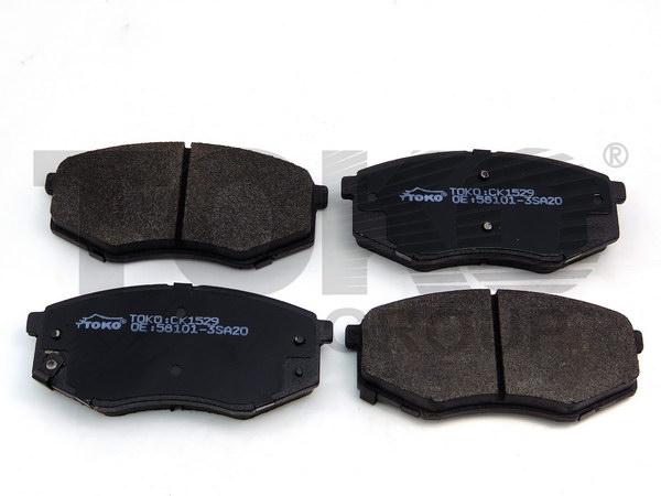 Колодки гальмівні дискові з пластинами, перед. HYUNDAI SONATA (YF) 2010-