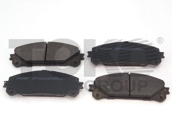 Колодки гальмівні дискові з пластинами, перед. TOYOTA HIGHLANDER (U40) 2.7i, 3.5i '09- LEXUS (GYL ) RX 350/450h AWD '09-